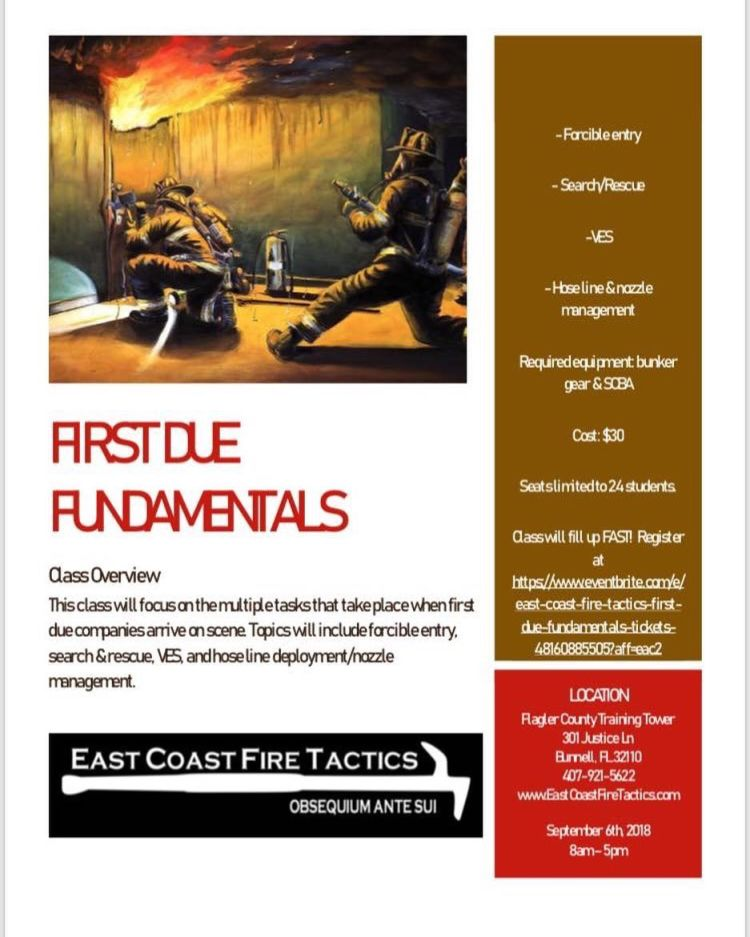 First Due Fundamentals